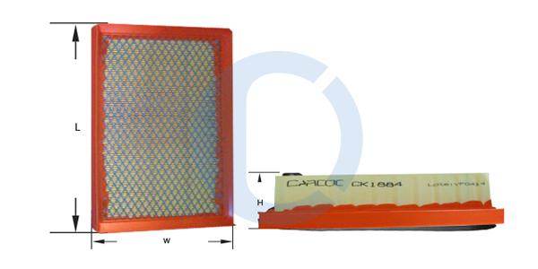 Filtro de aire para HONDA ACCORD quinteto de Mazda 616 626 818 929 Nuevo